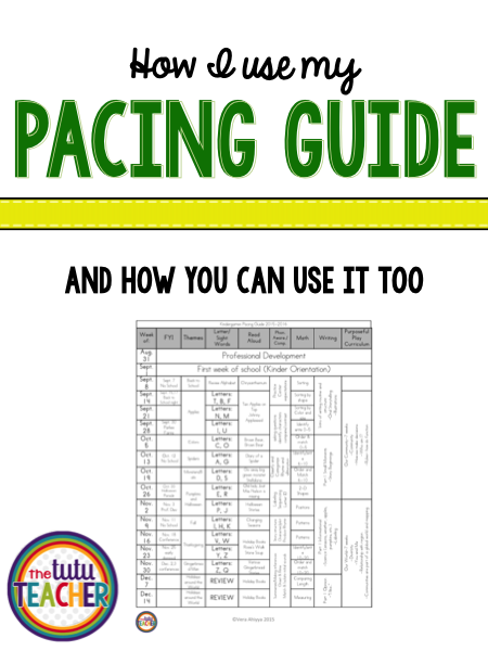 Do you teach Kindergarten? Are you wondering how to pace the year out so you can get everything covered? Then you're going to love this FREE Kindergarten pacing guide! Let an experienced Kinder teacher share how she uses a pacing guide & explain how you can make it work for your classroom or homeschool students! You'll love the columns for theme, letter of the week, sight words, read aloud, computation focus for the week, math, integrated play, and science and social studies. Get it now!!